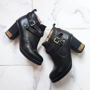 🇬🇧 Topshop Leather Booties 🇬🇧